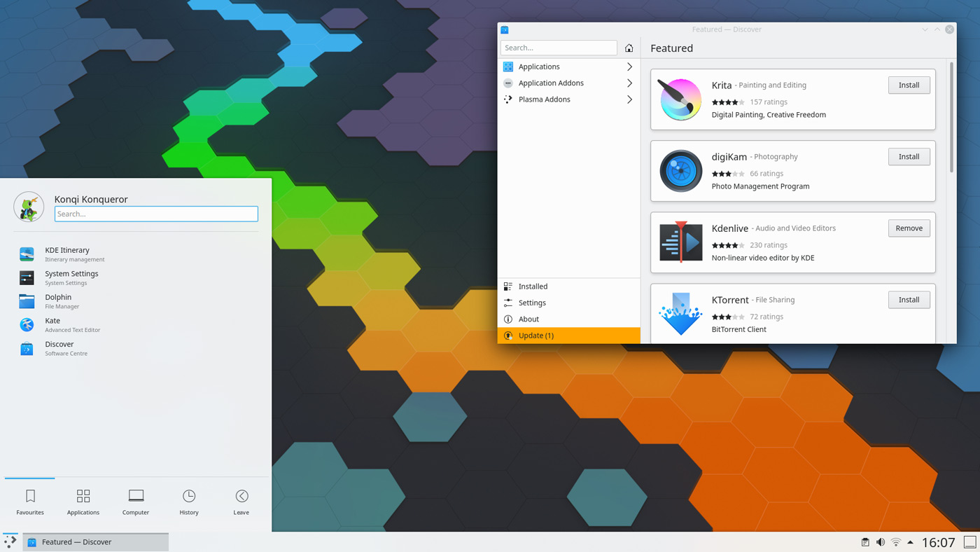 KDE Plasma 5.19 está disponible
